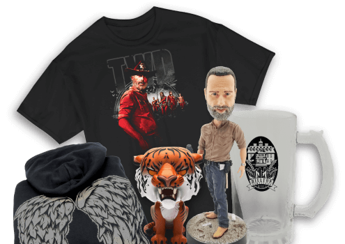 Previously featured items in The Walking Dead Supply Drop